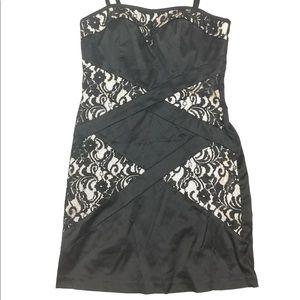 City studio black formal dress